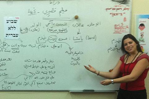 שיעור היכרות חינם בערבית תקשורתית